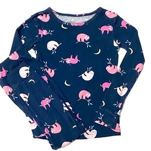 Carter's Sloth Print Pajamas 5T